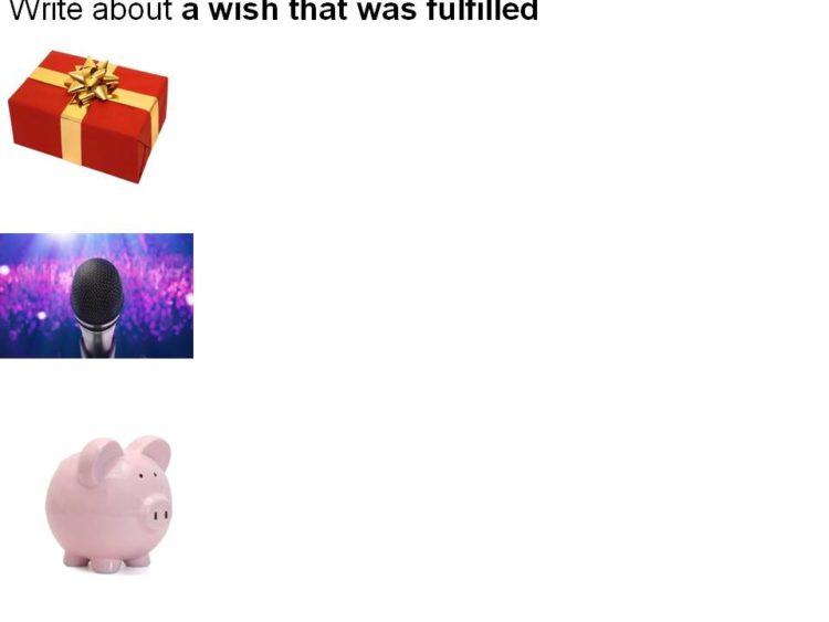 picture for P5 English Composition Theme – A wish that was fulfilled