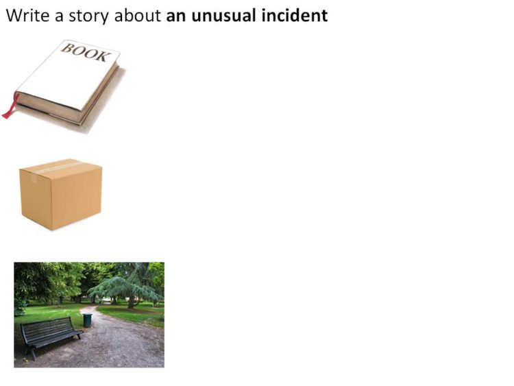 picture of P6 Composition model on theme of an Unusual Incident