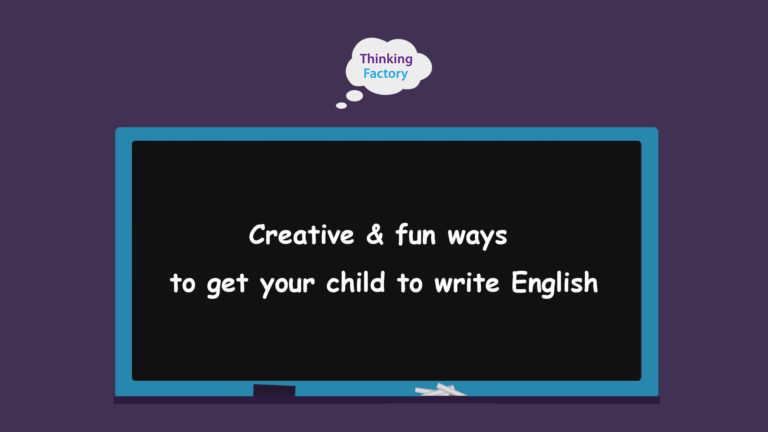 Creative & fun ways to get your child to write this December holidays