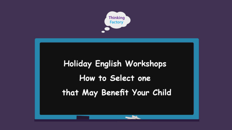 Holiday Workshops – How to Select one that May Benefit Your Child