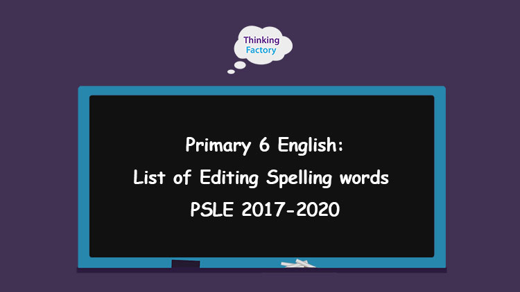 psle 2020 editing component