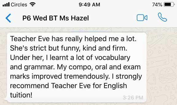 P6 Ms Hazel